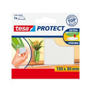 tesa Filzgleiter - 100 x 80 mm - weiß