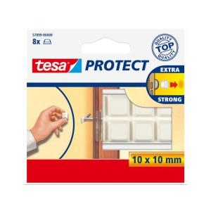tesa Protect Schutzpuffer - 10mm x 10mm - 8 Stück -...