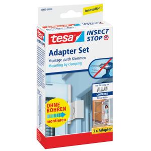 tesa Adapter für Alu Rahmen Comfort - weiß