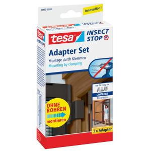 tesa Adapter für Alu Rahmen Comfort - braun