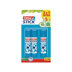 tesa Stick ecoLogo Klebestift - Inhalt 10 g - 2+1 Extra -...