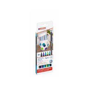 edding 4200 Porzellanpinselstift - 1-4 mm - 6er Set -...