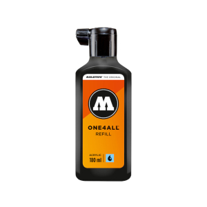 MOLOTOW ONE4ALL Refill 180ml signalschwarz Nr.180