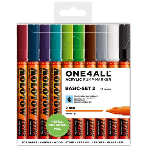 MOLOTOW ONE4ALL 127HS 10er Basic-Set 2