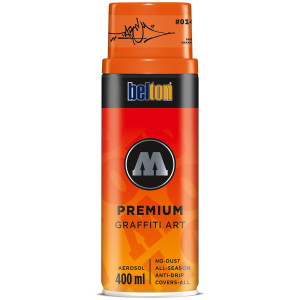 Molotow PREMIUM 400ml #014 DARE orange