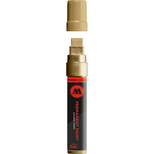 MOLOTOW 620PP - Permanent Paint Marker - Chromgold II - 15mm