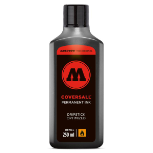 MOLOTOW COVERSALL black  Refill Ink