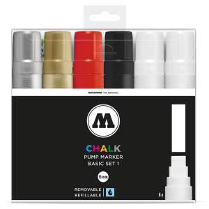 MOLOTOW CHALK Marker Basic-Set 1