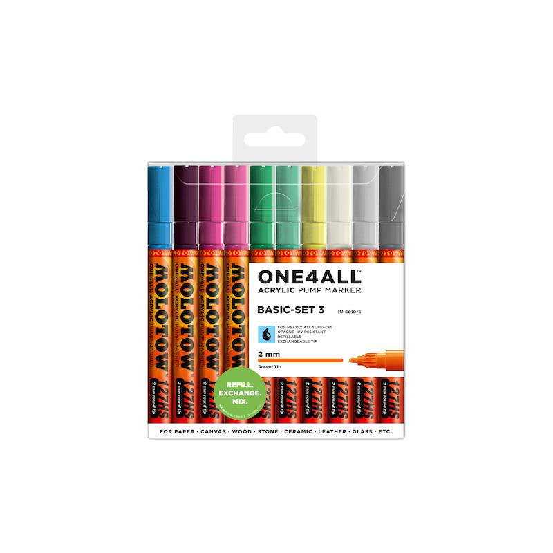 MOLOTOW ONE4ALL 127HS 10er Basic-Set 3