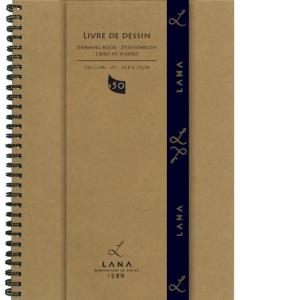Lana Livre de Dessin Zeichenbuch - 150 g/m² - DIN A4...