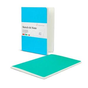 Hahnemühle Sketch & Note - Blue Bundle - 125...