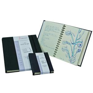 Hahnemühle Sketch Diary Black - 120 g/m² -...