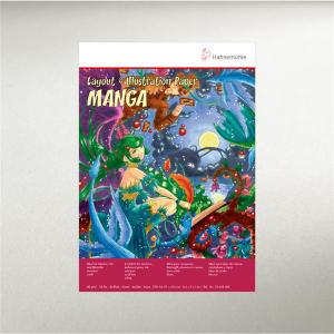 Hahnemühle Mangablock - 80 g/m² - DIN A4 - 40...
