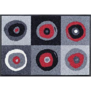 wash+dry Schmutzfangmatte Sergej grey - 60 x 180 cm