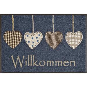wash+dry Schmutzfangmatte Cottage Hearts - 50 x 75 cm