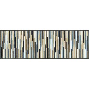 wash+dry Schmutzfangmatte Mikado Stripes nature - 60 x...