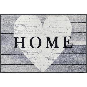 wash+dry Schmutzfangmatte Heart at Home - 50 x 75 cm