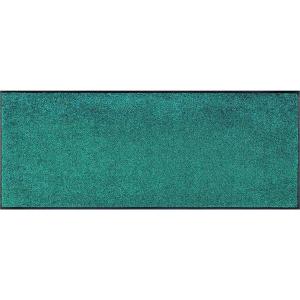 wash+dry Schmutzfangmatte Trend-Colour Peacock Green - 75...