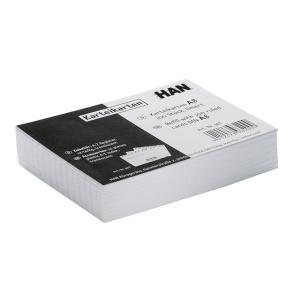 HAN Karteikarten DIN A8, weiß 100 St. liniert 120g/qm