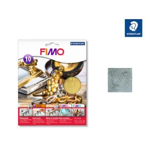 STAEDTLER FIMO 8781 Blattmetall - silber - 10 Blatt