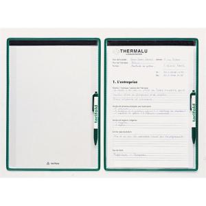 Tarifold Kontrollblatt-Halter A4 grün 5St