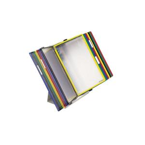 Tarifold Tischständer A5 grau aus Metall mit 20...