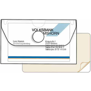VELOFLEX Visitenkartenetui - USB-Stick-Hülle - 100 x...