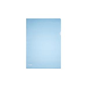 herlitz Aktenhülle - DIN A4 - Pyramide PP - blau -...
