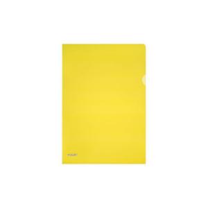 herlitz Aktenhülle - DIN A4 - Pyramide PP - gelb -...