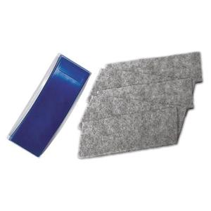Magnetoplan Tafellöscher magnetisch blau/grau