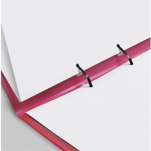 VELOFLEX Strip-Binder - DIN A4 - PP -  rot