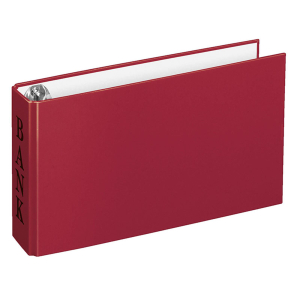 VELOFLEX Bankordner - DIN A6 - PP - rot