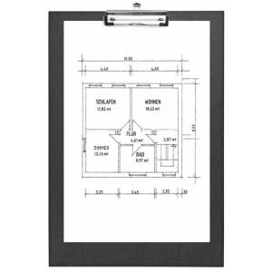 VELOFLEX Schreibplatte - DIN A3 - PP - max. 100 Blatt -...