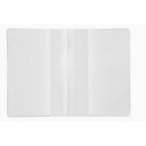 VELOFLEX Doppelhülle - DIN A6 - PP glasklar