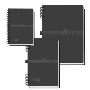 VELOFLEX Telefonringbuch - DIN A7 - mit Spiralbindung -...
