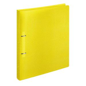 VELOFLEX Ringbuch VELOCOLOR - DIN A4 - PP - 2 cm - gelb