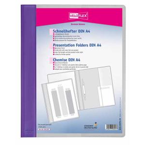 VELOFLEX Schnellhefter VELOFORM - DIN A4 - PVC - lila