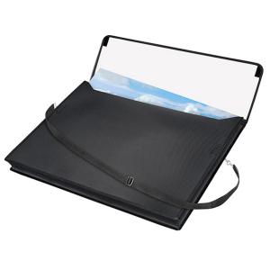 VELOFLEX VELOBAG Zeichentasche - DIN A2 - PP - schwarz
