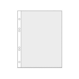 VELOFLEX Prospekthüllen - DIN A5 - PP - glasklar -...