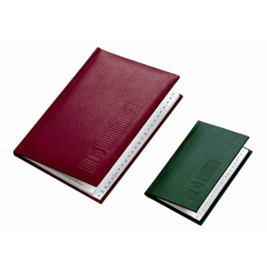 VELOFLEX Adressbuch - DIN A6 - Kunstleder - 24 Blatt -...