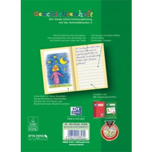 Oxford Geschichtenheft - DIN A5 - Lineatur 2 - 16 Blatt