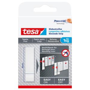 tesa Klebestreifen für Tapeten und Putz - Tragkraft...
