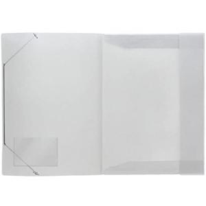 Eckspanner-Mappe, PP, A3, transparent matt