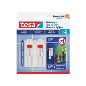 tesa Klebenagel - verstellbar - Tragkraft bis 3 Kg