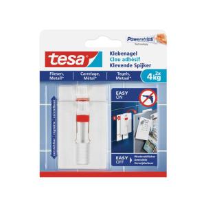 tesa verstellbarer Klebenagel für Fliesen und Metall...