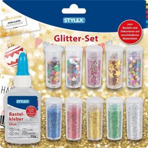 Stylex Glitter Set - 11-teilig