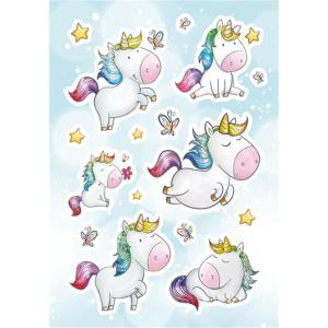 Herma 15402 MAGIC Sticker - Einhorn - Jewel - 16 Sticker