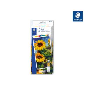 STAEDTLER 8500 Acrylfarben - 12 Tuben je 12 ml
