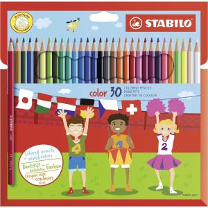 STABILO color Buntstift - 30er Set