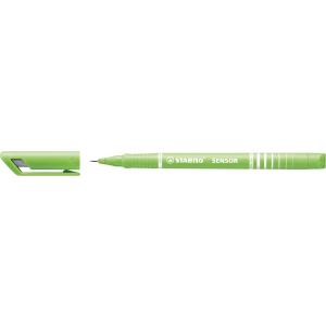 STABILO SENSOR Fineliner - 0,3 mm - hellgrün